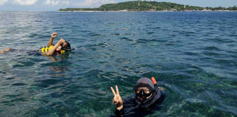 snorkelingpadma